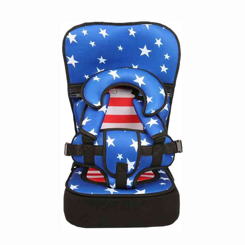 Child Seat Chair Portable Cushion With Belt Heighten Pad