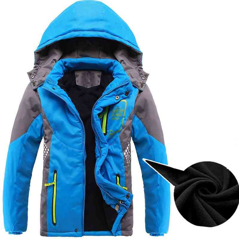 Children Outerwear Warm Coat Waterproof Windproof Thicken Cotton-padded Jackets