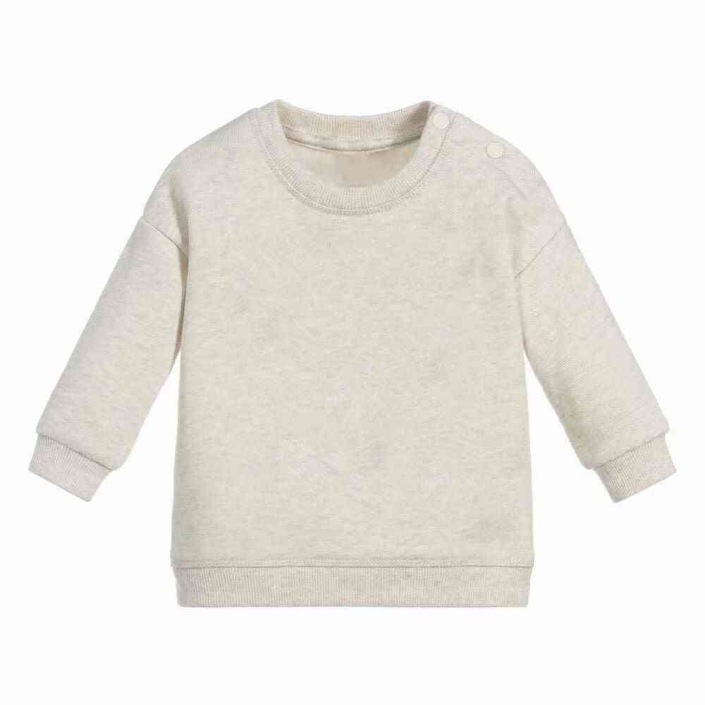 Kids Cotton Sweatershirt Pullover Tops, Baby Long Sleeve Romper