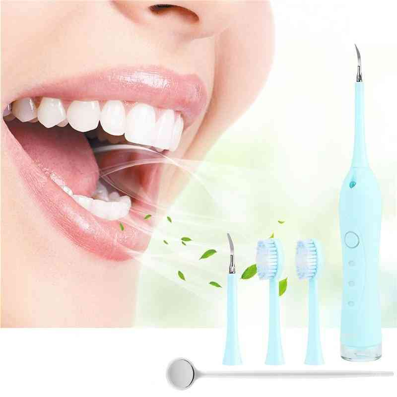 Portable Electric Ultrasonic, Dental Scaler Tooth Remover, Stains Tartar Whitening, Oral Cleaner Machine