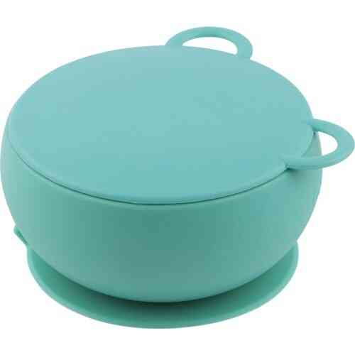 Vacuum Based Bowl With Silicone Cover