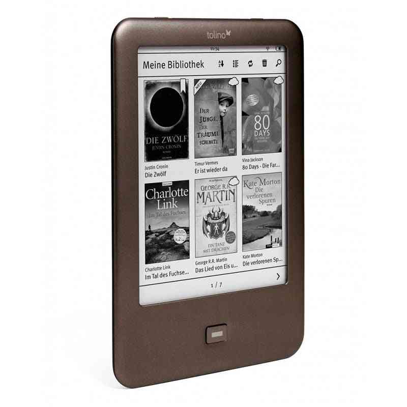 Built In Light Wifi Touch Screen Electronic Book Reader