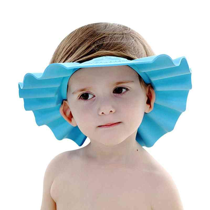 Cap Toddler Children Shower Adjustable