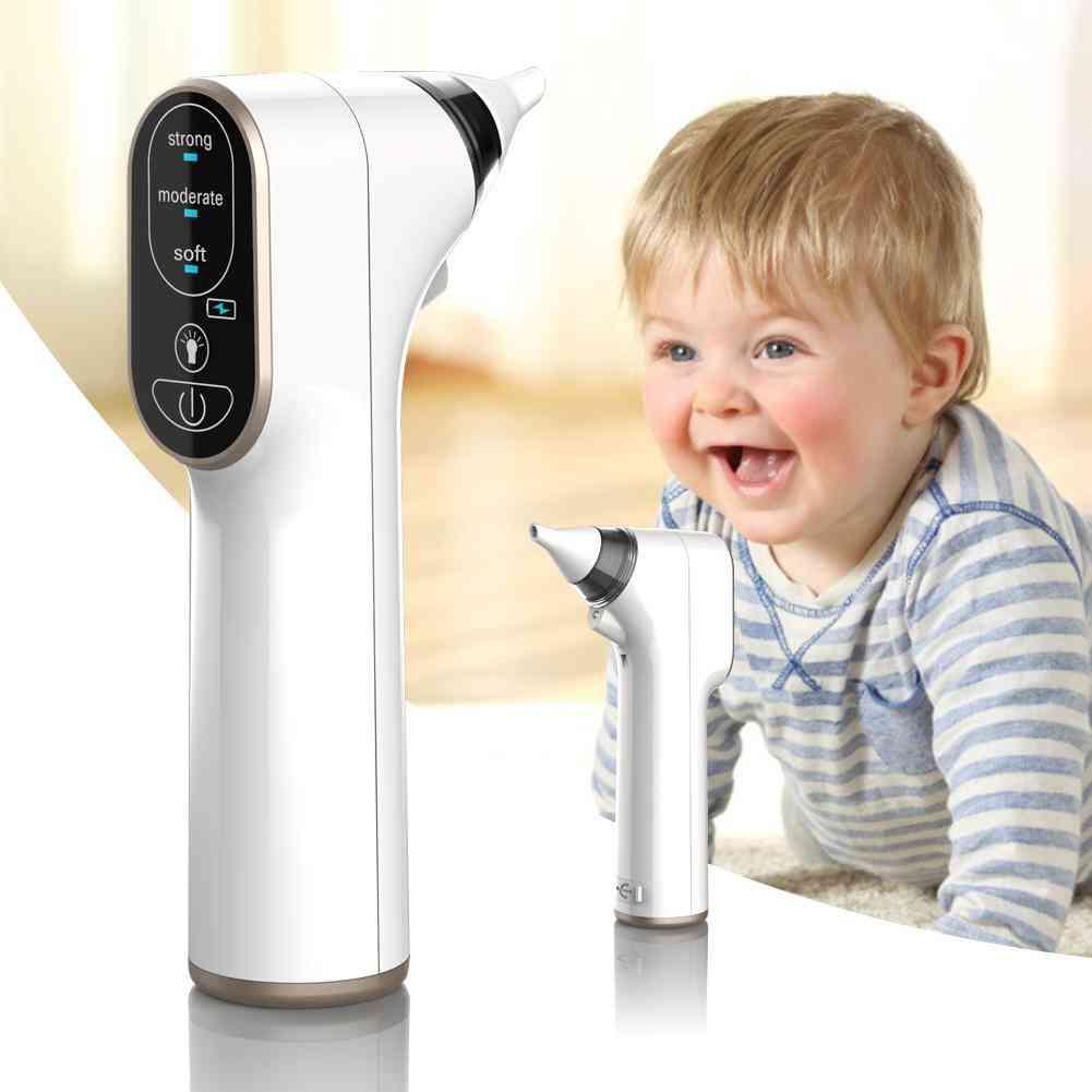 Kid Baby Nasal Aspirator, Electric Nose Cleaner, Newborn Baby Sucker