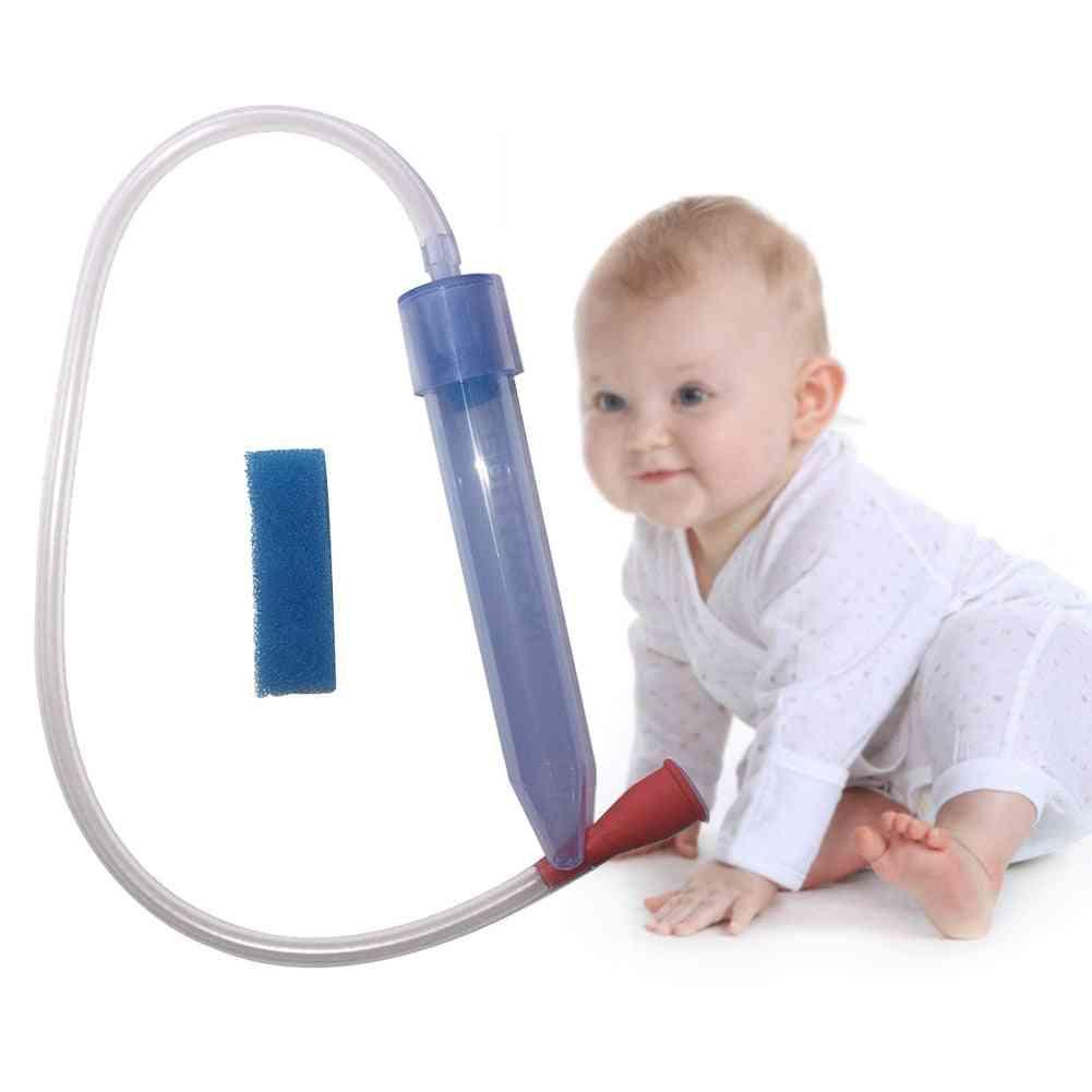 Baby Vacuum Suction Soft Tip Snot Nasal Aspirator