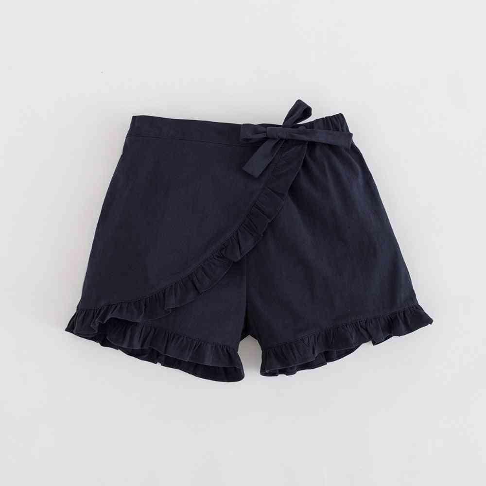 Girls Ruffle Short