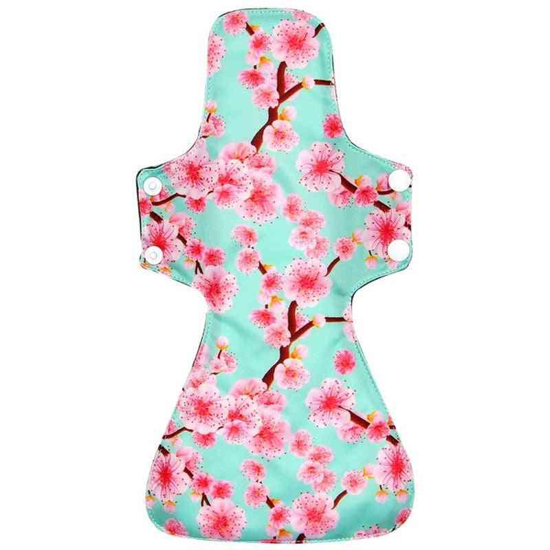 Reusable Cloth Menstrual Pads Bamboo Charcoal Towel Hygienic Sanitary Napkin Pads
