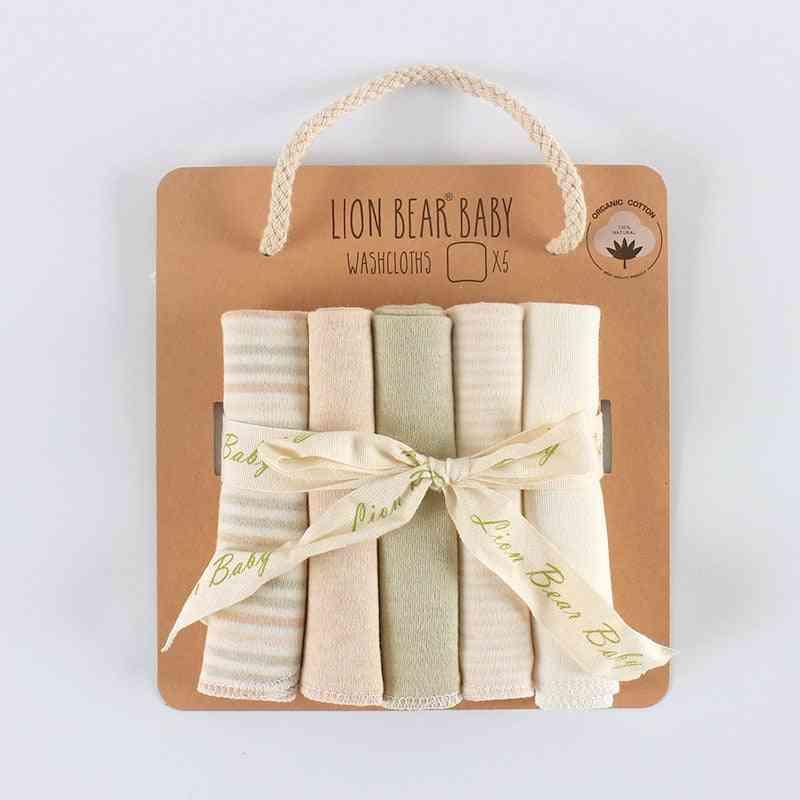 Feeding Towel Natural  Cotton (5pcs 1 Set)