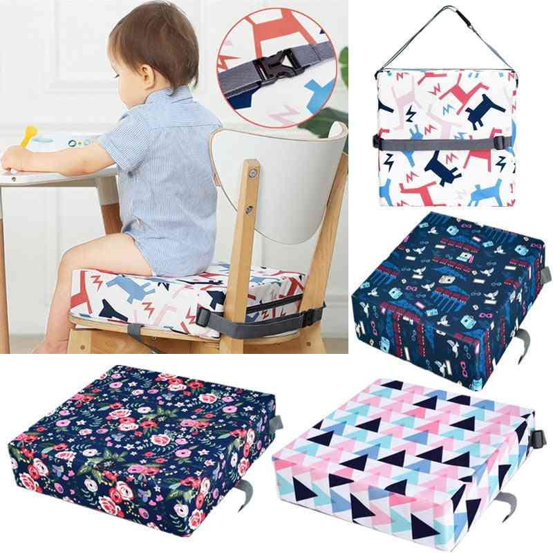 Baby High Chair Booster Pad Portable Thicken Sponge Seat Cushion