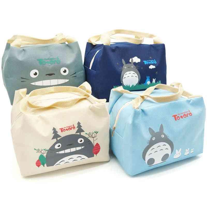 Baby Feeding Milk Bottle Thermal Insulated Cartoon Totoro Food Keep Warmer Bags