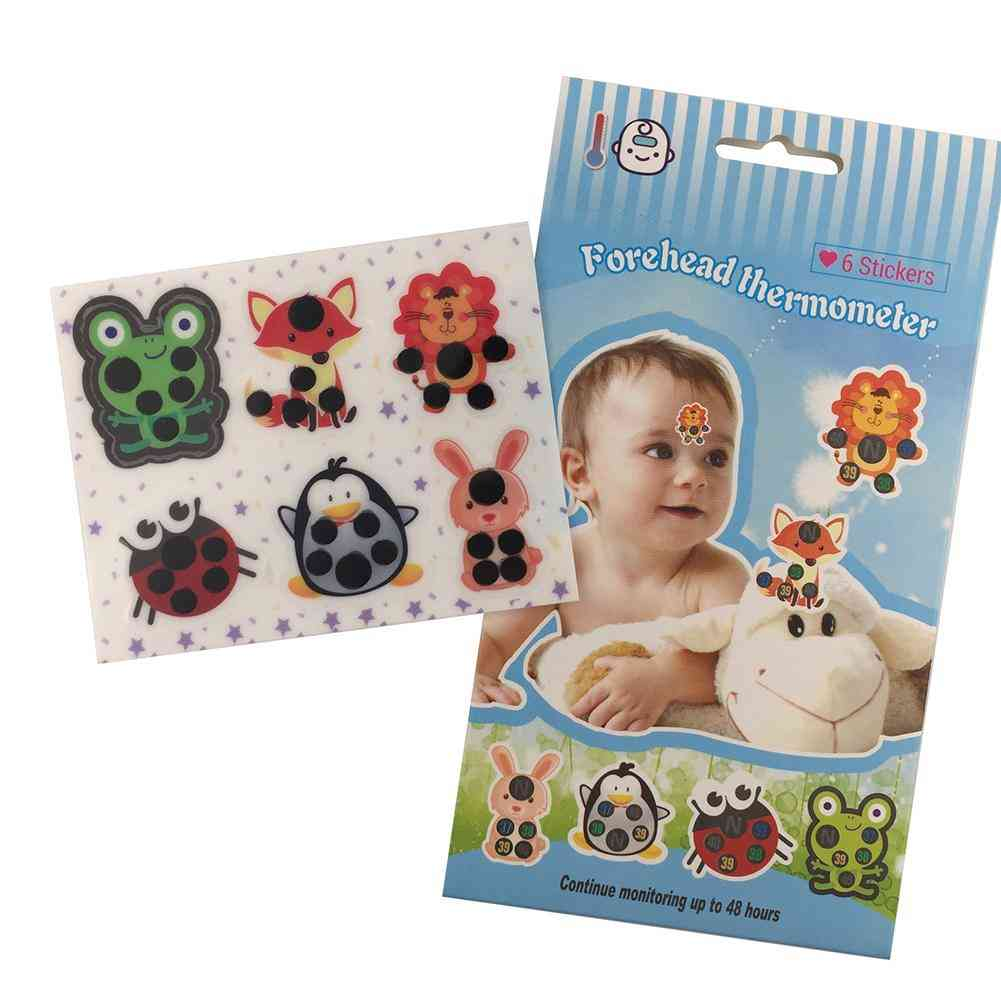 Body Fever Thermometer Sticker Baby Care