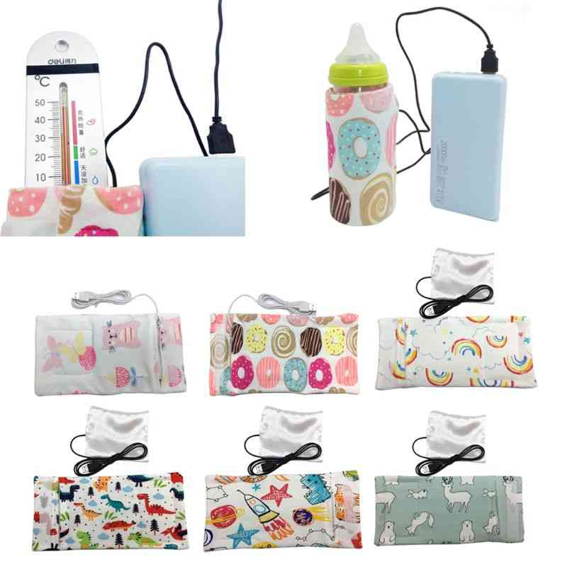 10 Colors Travel Stroller Usb Milk Water Warmer Insulated Bag