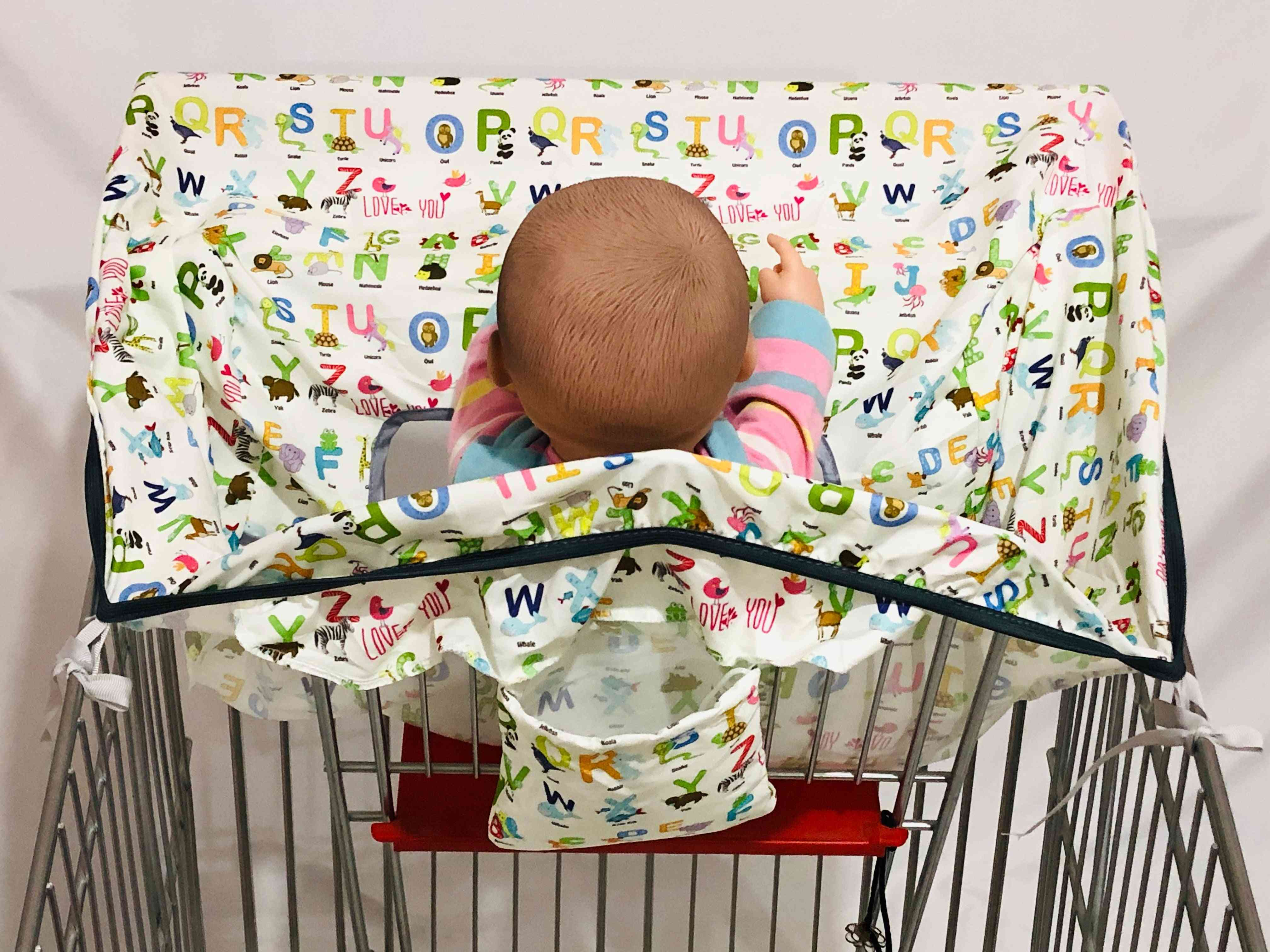 Thickness Plus Infant Supermarket Shopping Cart Cover Trolley Mat