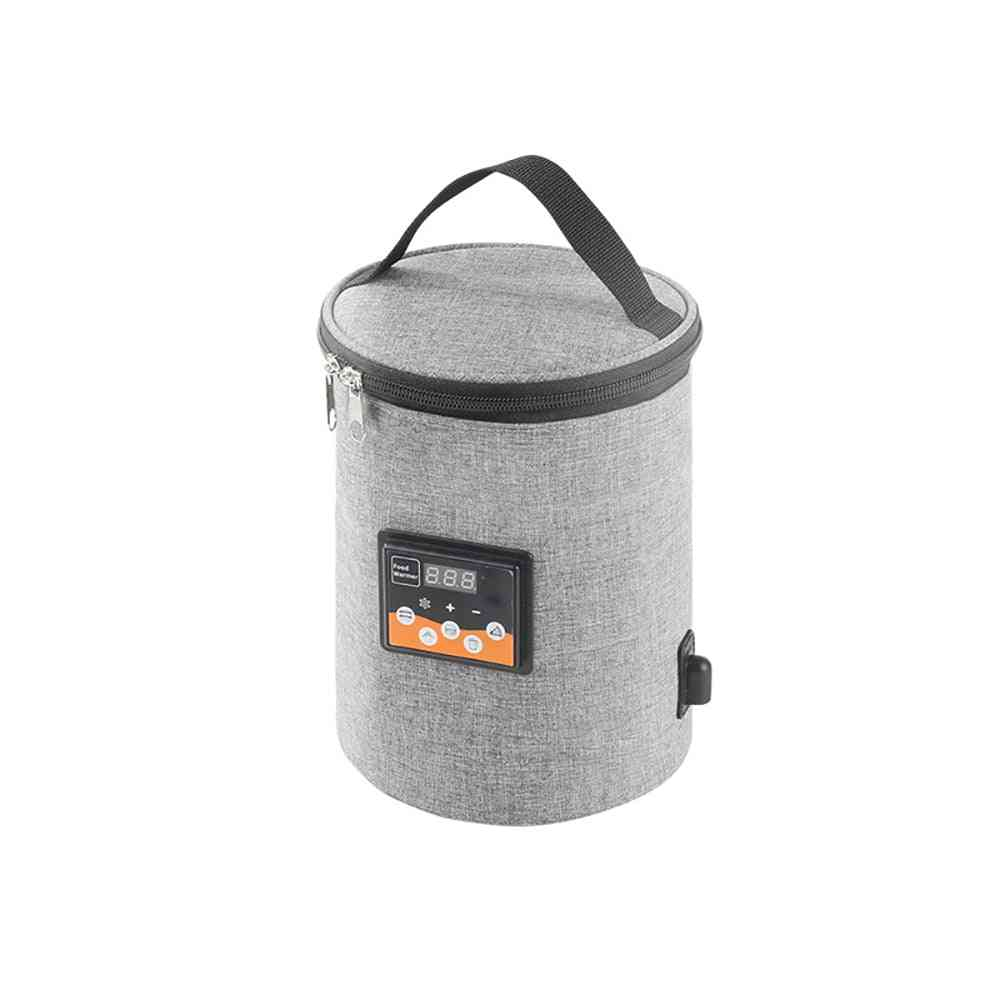 Baby Bottle Warmer Heater Insulated Bag - Travel Cup Car Heaters Drink Warm Bag