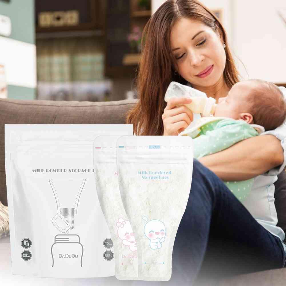 56pcs/pack Dispenser Milk Powder Storage Bag Breast Milk (56pcs)