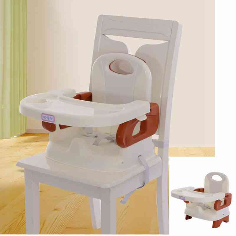 Plastic Dining Chair For, With Three-point Seat Belt Baby Feeding Chair