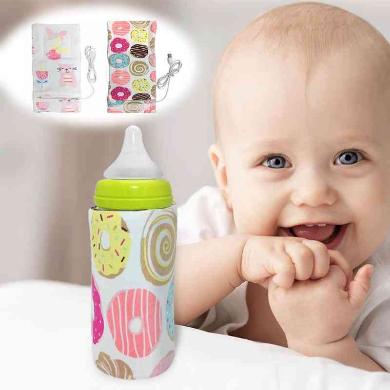 Usb Charging Baby Bottle Warmer Portable Outdoor Infant Milk Feeding Bottle