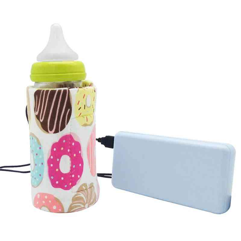 Outdoor Cup Warmer Heater Infant Feeding Portable Usb Baby Bottle