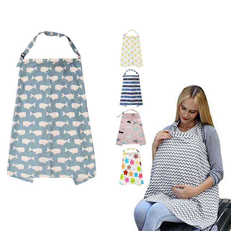 Mother Outing Breastfeeding Towel Cotton Baby Feeding Nursing Cover