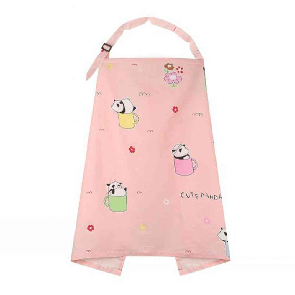 Breathable Baby Mom Breastfeeding Poncho Adjustable Cover