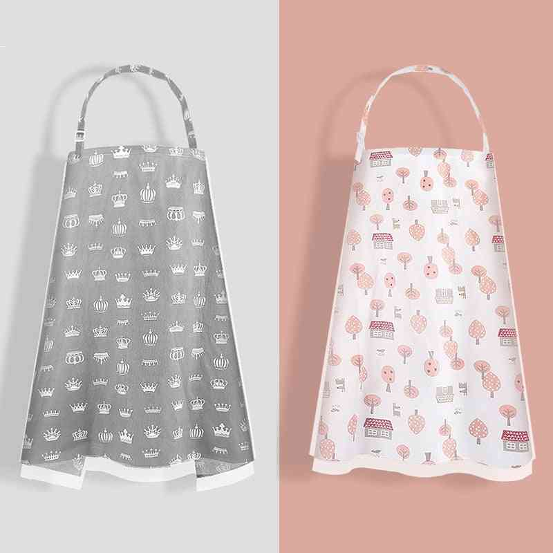 Multifunctional Nursing Cover Mother Breast Feeding Cotton Apron