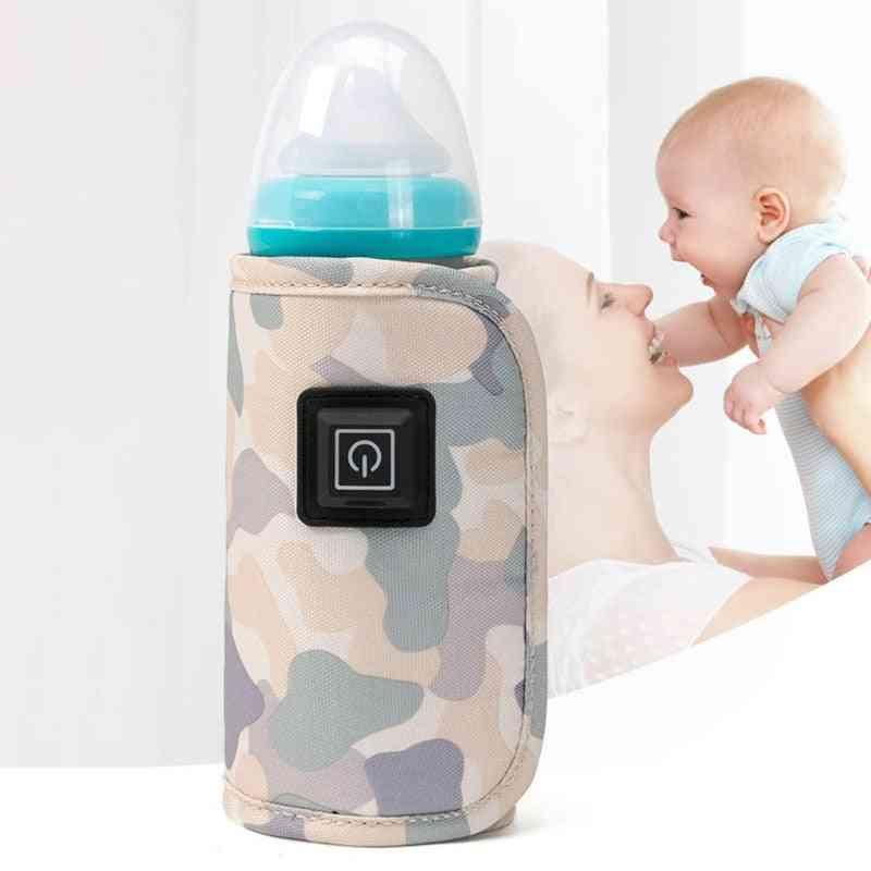 Portable Usb Baby Bottle Warmer Travel Milk Warmer Insulation