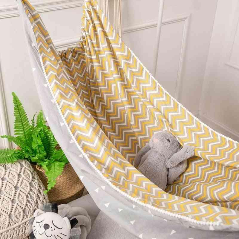 Children Hammock Swing Indoor Outdoor Hanging Basket