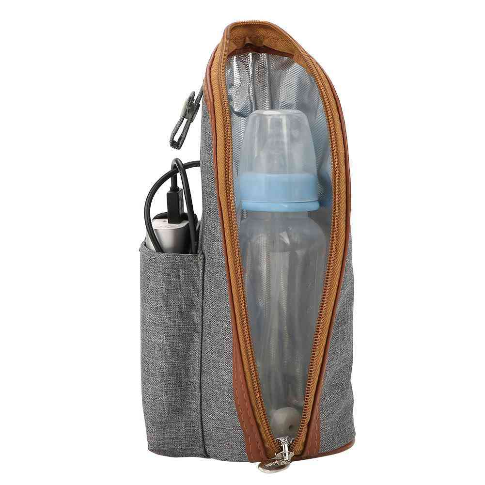 Usb Heated Baby Feeding Milk Bottle Warmer Bag