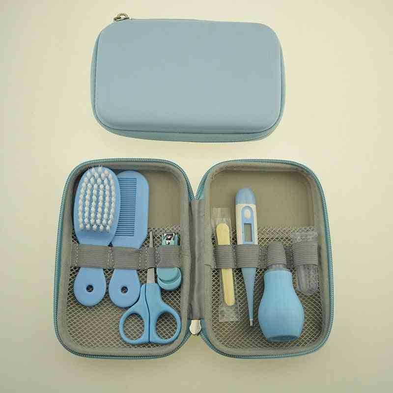 Baby Nail Clipper Comb Brush Set Infant Health Care Kit