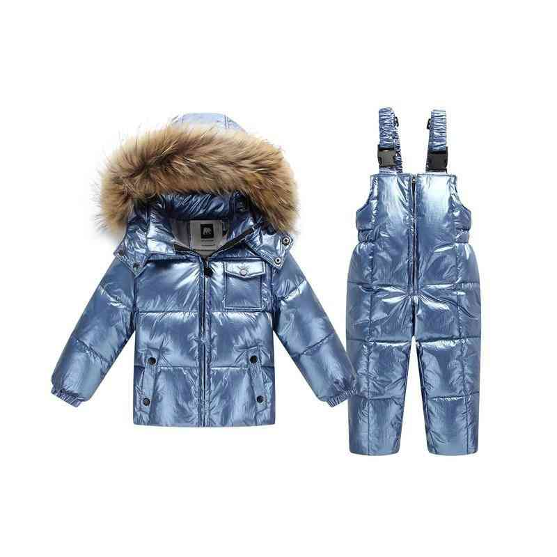 Winter Jacket For/boys, Warm Duck Down Kids Clothes