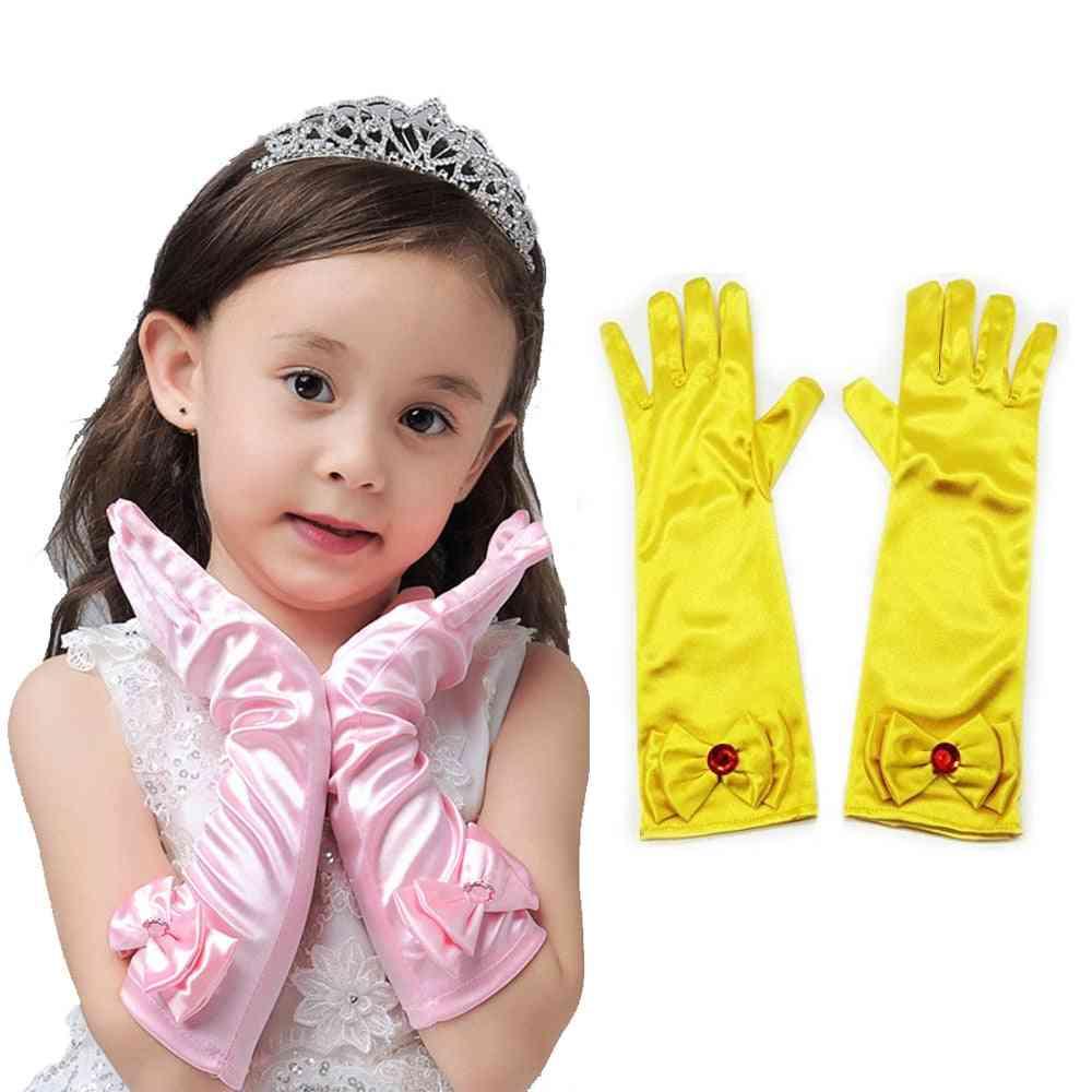 Princess Long Glove, Accessories, Baby Satin Gloves