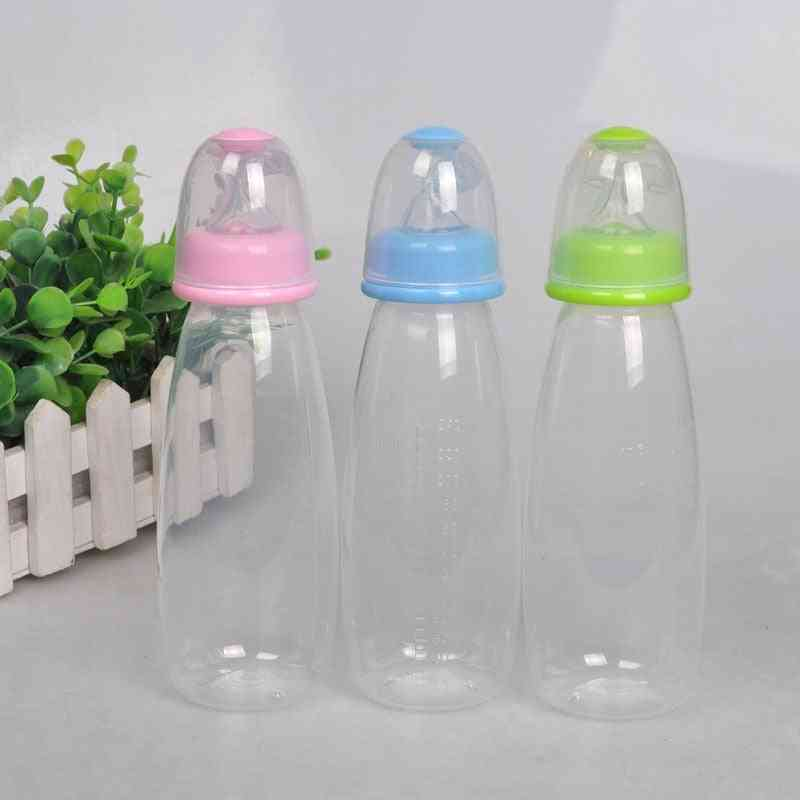 Baby Bottle With Spoon Food Rice Paste Feeding,  Convenient And Practical