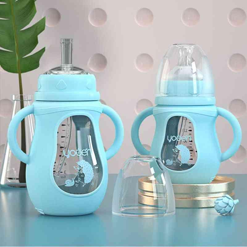 Baby Silicone Water Drink Bottles, For Milk Feeder Set Baby Feeding Bottle