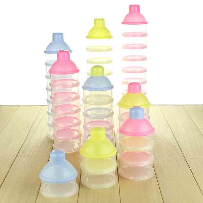 Baby Feeding Box Milk Powder Formula Food Container, Bottle Toxic-free