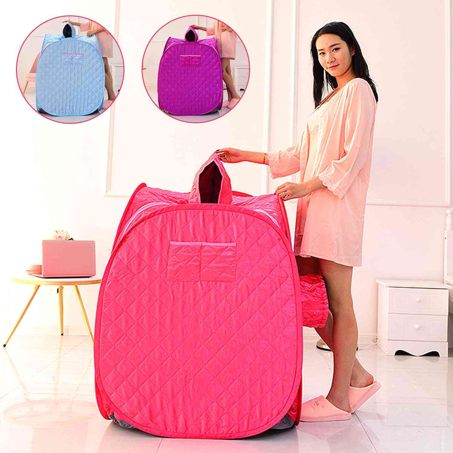 Portable Folding, Steam Cabin Sauna Room, Tent Box Without Steamer For Weight Loss