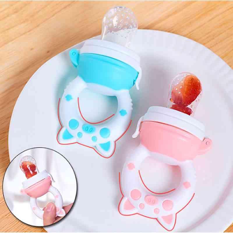 Newborn Baby Feeder Bottle, Trainning To Eat Fruit, Grinding Stick, Feeding Supplementary Food Bag Bottle Cup