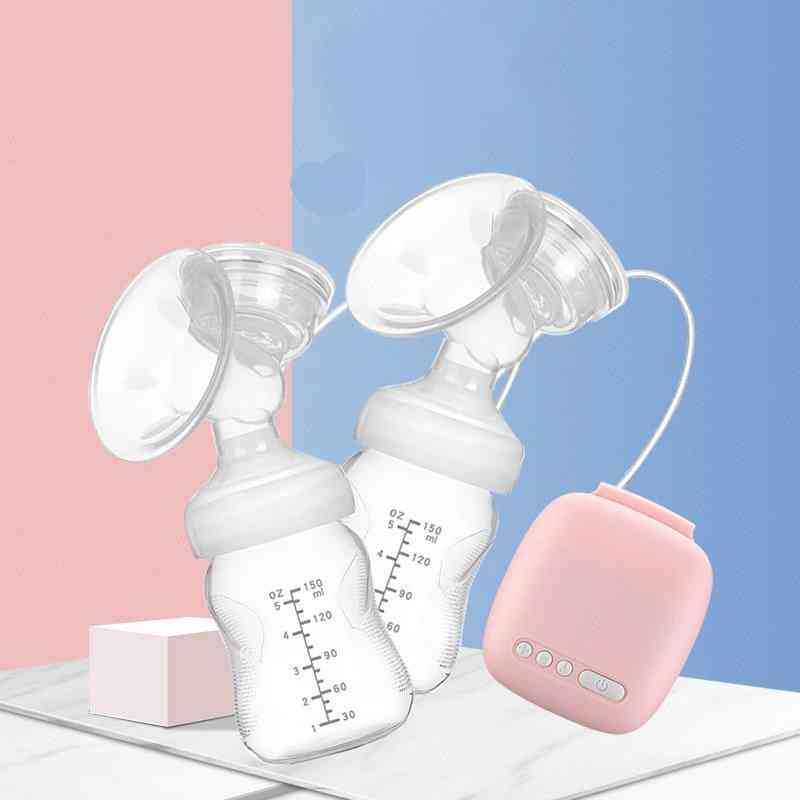 Electric Double Breast Pumps (pink)