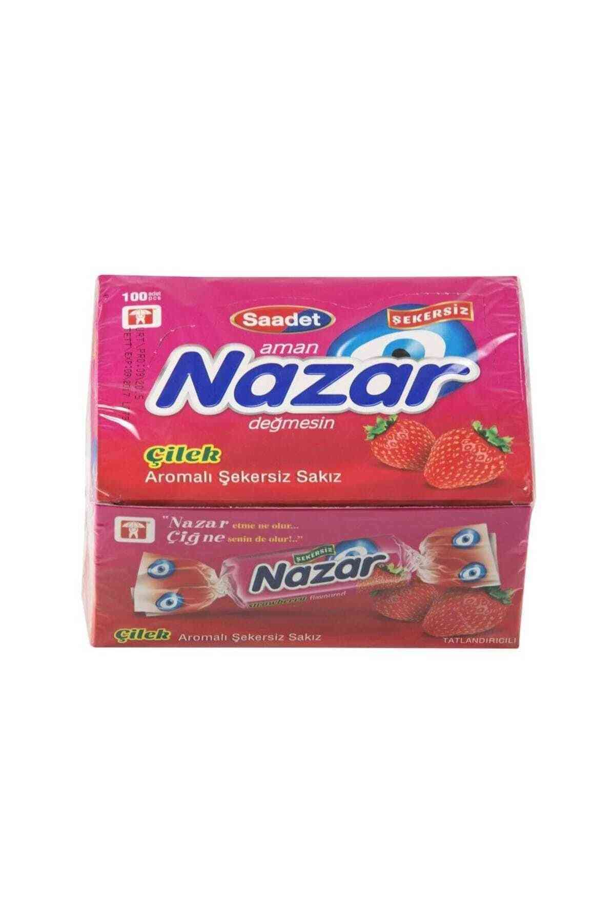 Nazar Strawberry Flavored Chewing Gum