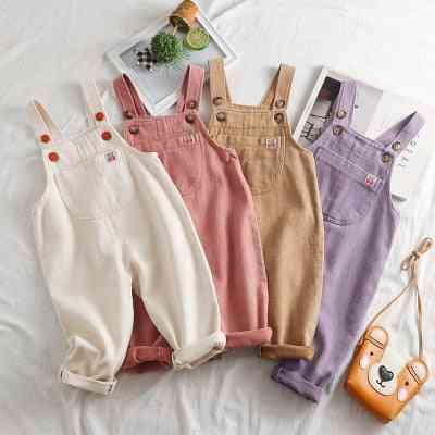 Infant Korean Style Kids Overalls Juspsuit Trouser