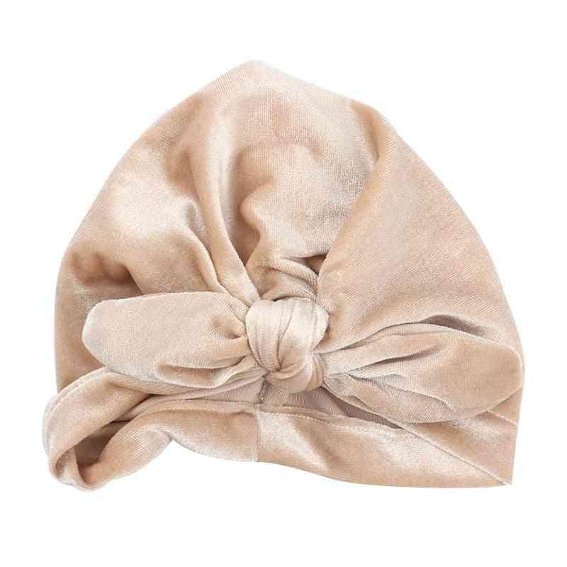 Autumn Winter Baby Boy Photography Props Elastic Beanie Turban Hat