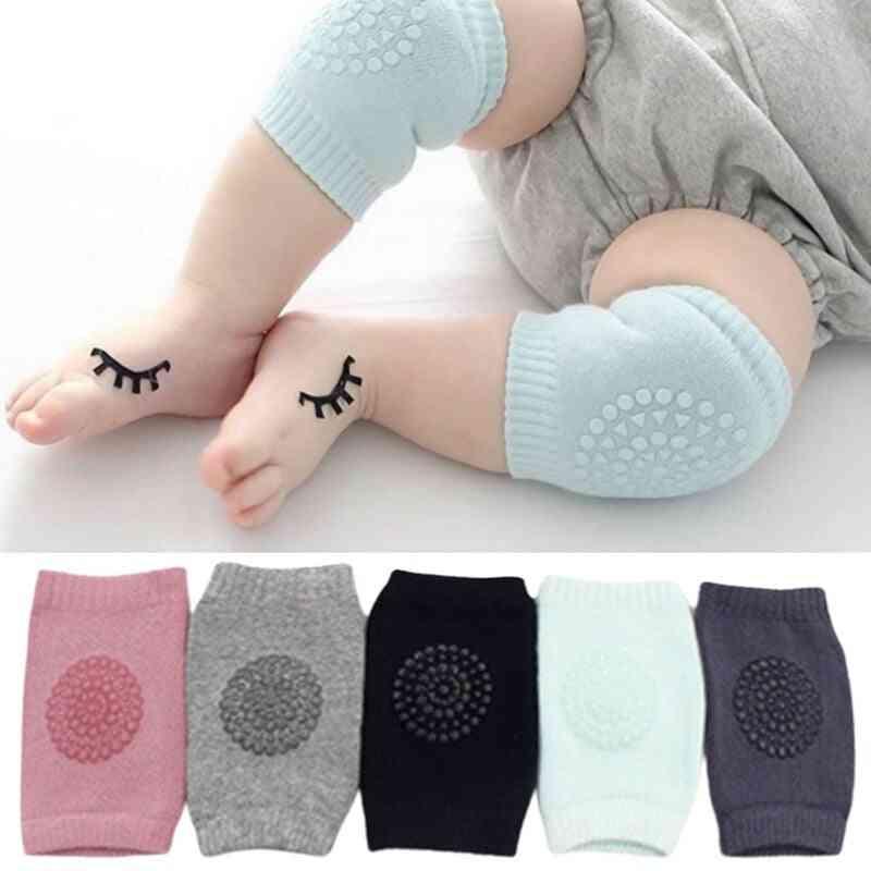 5pairs Baby Knee Pads Anti-fall Non-slip Pure Sponge Leg Warmer (h01)