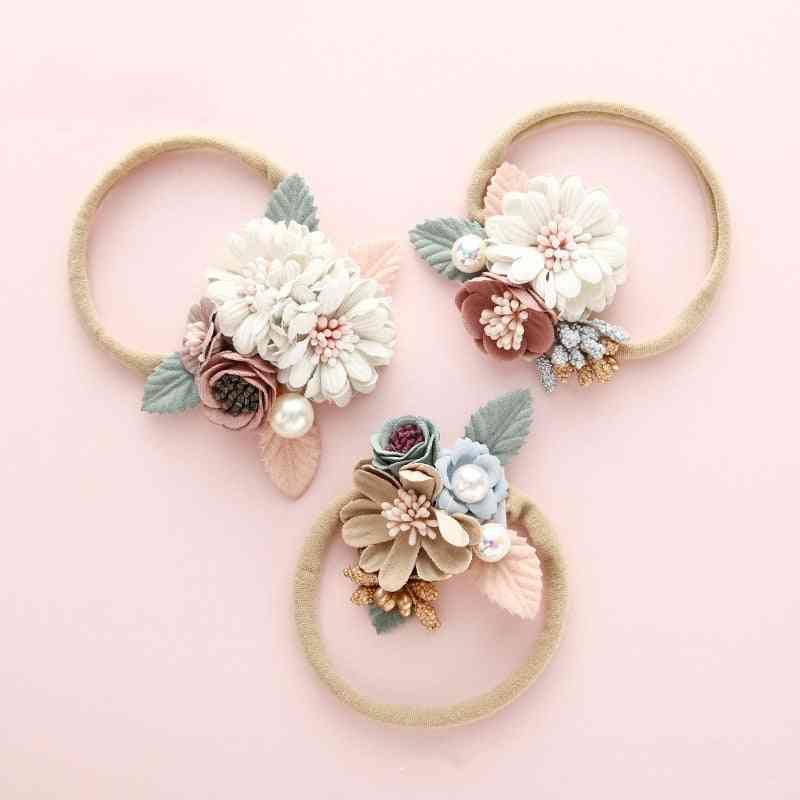 Baby Fashion Headband, Hair Accessories For Babies.  Princess Floral Hair Band