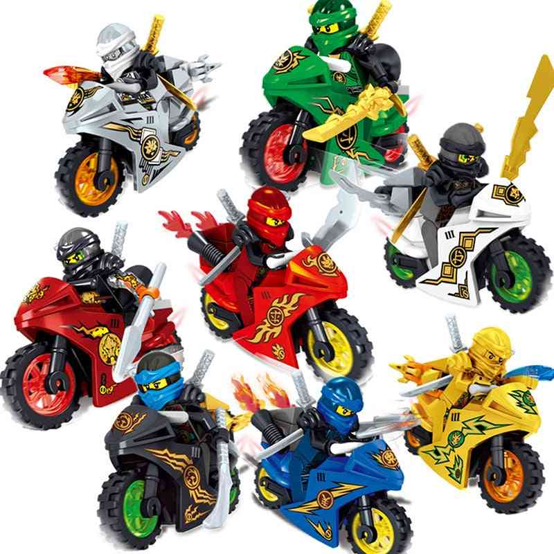 Cool Motorcycle With Weapons  Toy