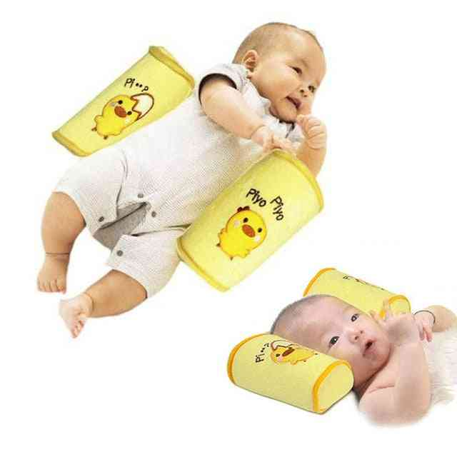 Comfortable Cottons Anti Roll Pillow Lovely Baby Toddler Safe Cartoon Sleep Head Positioner