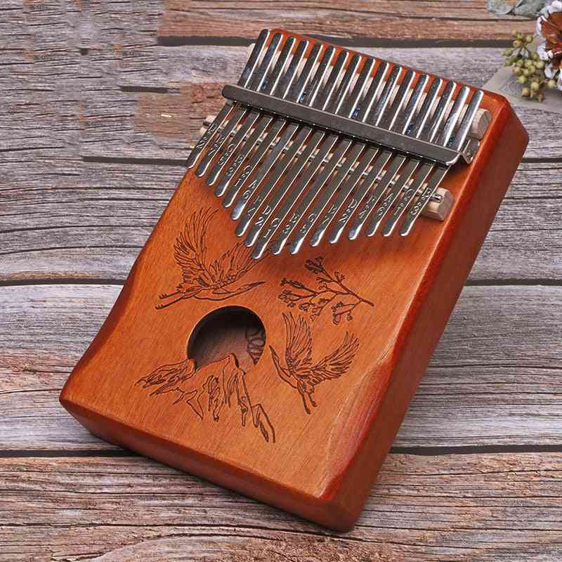 Thumb Piano Portable Finger Flexible With Accessories Made By Single Board High Quality