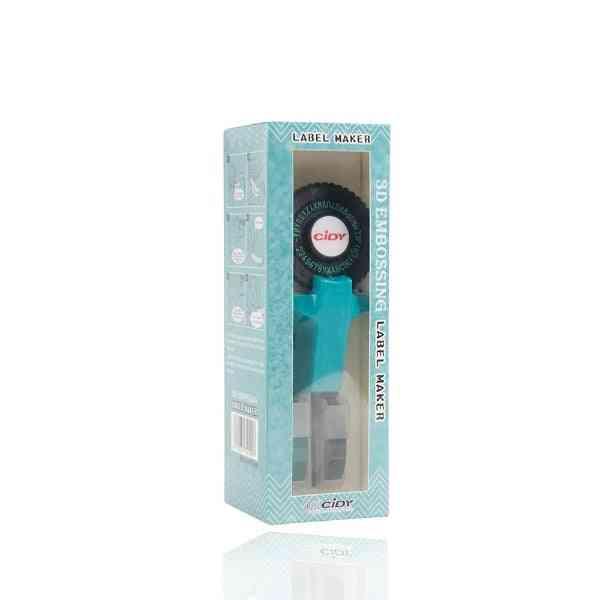 E101 Label Printer With 9mm Label Tape Manual Label Maker Typewriter