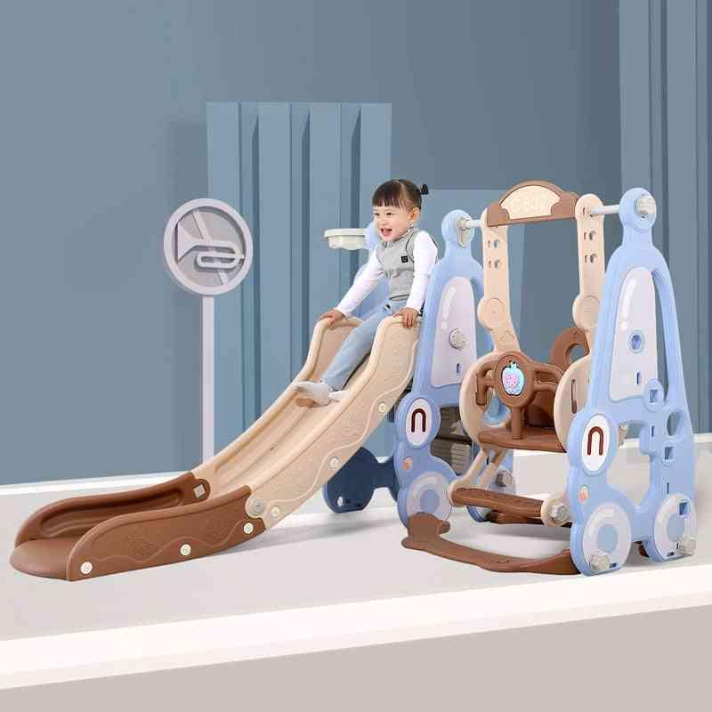 Baby Slide Swing Chair 5 In 1 Indoor Kindergarten Slide Combination Kids Playground