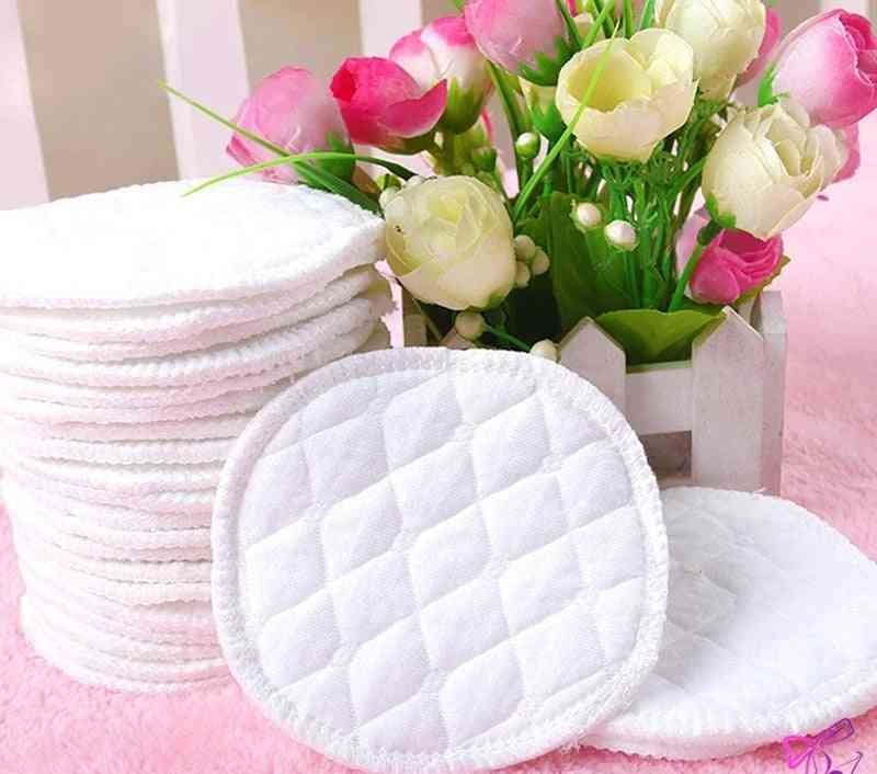 Reusable Breast Feeding Nursing Pads Washable Soft Absorbent Baby Supplies  (as Show)