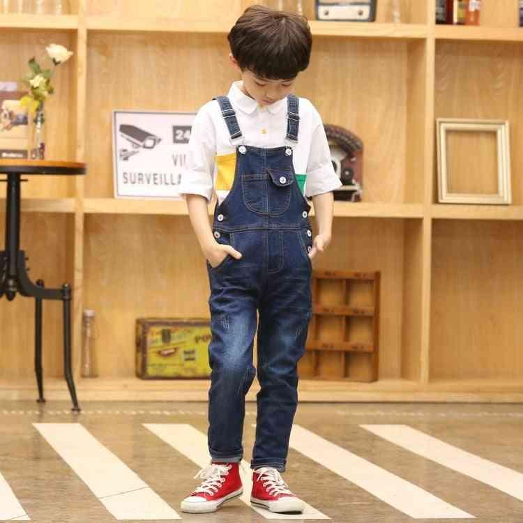 Denim Jumpsuit Overalls Jeans Pant