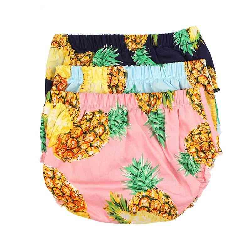 Pineapple Print Baby Diaper Cover